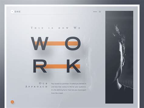 design lab ui 40 stunning typographic website concepts web graphic