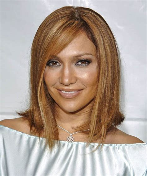 j lo new hairstyle jennifer lopez medium straight formal hairstyle