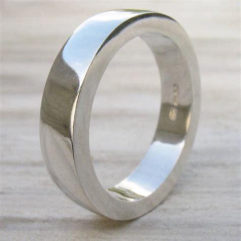 Silver Ring Handmade - handmade chunky mens silver ring