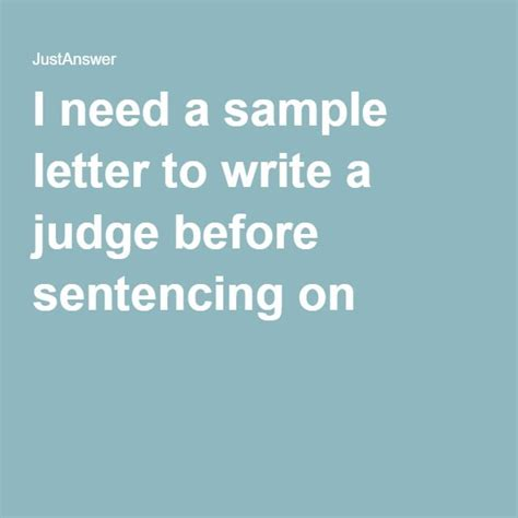 Character Reference Letter To District Attorney sle letter of leniency to judge before sentencing