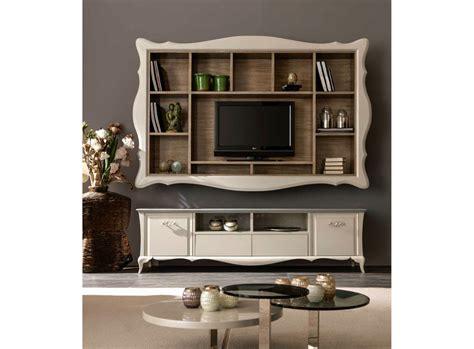parete porta tv parete attrezzata fissata a muro con porta tv