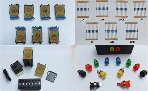 decade resistor box kit resistance decade substitution box kit from analysir on tindie