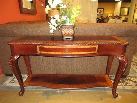 havertys sofa table haverty s sofa table at the missing piece
