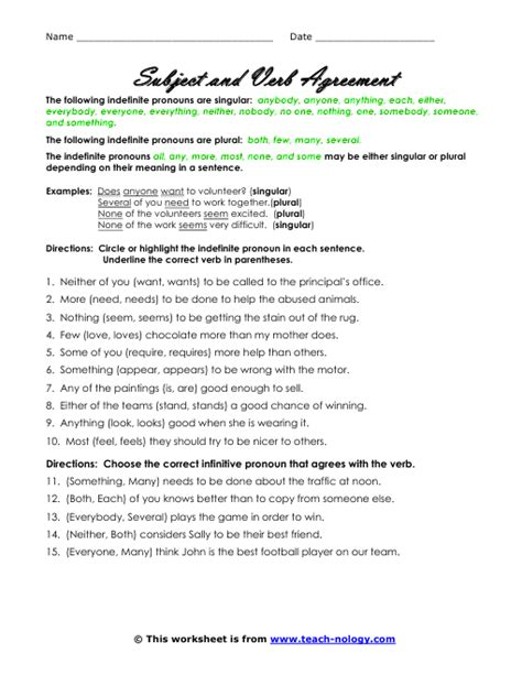 Subject Verb Agreement Worksheet by 28 Subject Verb Agreement Worksheets Elementary