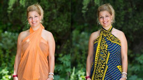 como hacer vestidos con pareos como hacer vestidos con un pareo para el verano o la playa