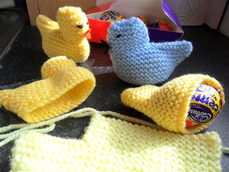 knitting pattern easter chick creme egg easter chick easy knit eviesgran
