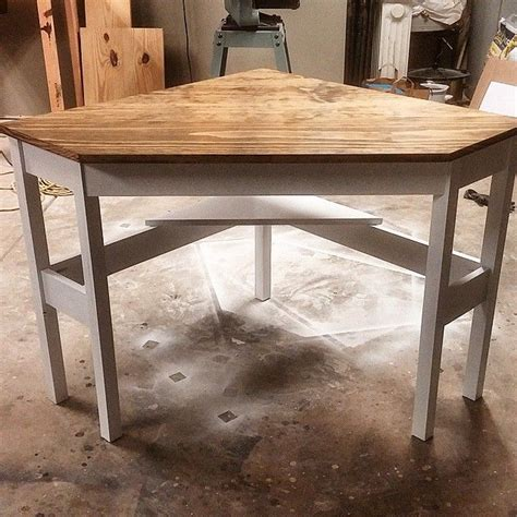 How To Build A Corner Desk From Scratch 17 Best Ideas About Computer Desks On Pinterest Desk For Computer Farmhouse Home Office
