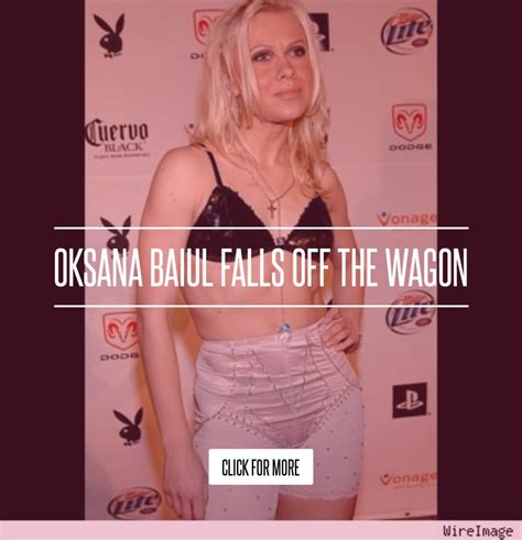 Oksana Baiul Falls The Wagon by Oksana Baiul Falls The Wagon