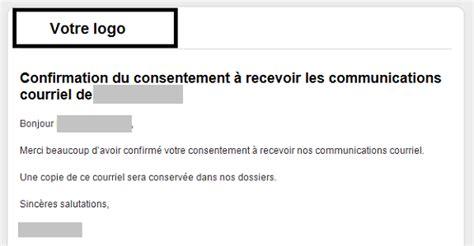 Exemple De Lettre De Demande De Matériel à La Mairie Cr 233 Er Un Mod 232 Le De Consentement Cyberimpact