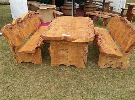 Gartenmobel Rustikal Holz Polen