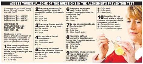 test alzaimer a quiz has been developed that could help spot alzheimer s