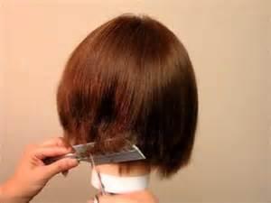 how to trim ladies short hair how to cut women s girls hair a line bob undercut bob
