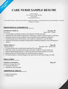 Resume Nursing by What To Include In A Nursing Resume