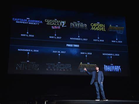 marvel release dates marvel reveals international release dates for phase 3
