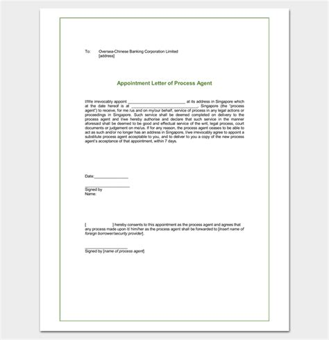 appointment letter sle for travel appointment letter format travel agency 28 images
