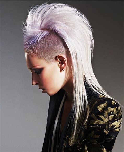 punk hairstyles definition 17 best images about grey white hair styles on pinterest