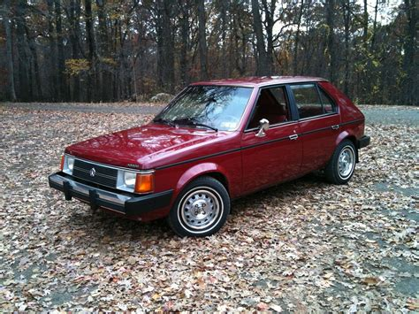 vortex plymouth vwvortex 1985 plymouth horizon regular car reviews