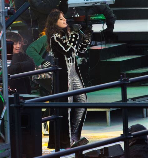 new year performance camila cabello rehearses for new years performance at