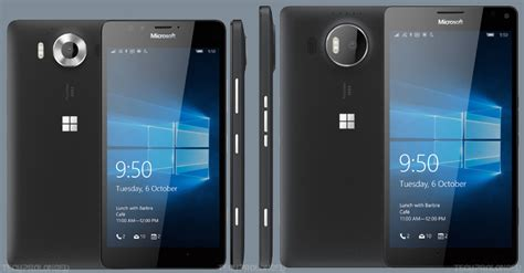 microsoft lumia 950 xl smartphones microsoft global 2015 lumia 950 and 950 xl specs comparison side by side