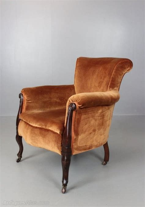 antique upholstered armchairs antique upholstered armchair antiques atlas