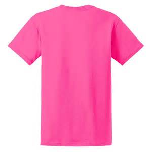 safety pink color gildan 2000 ultra cotton t shirt safety pink