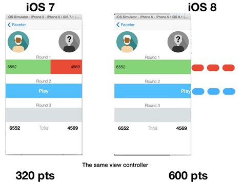 iphone layout width iphone full width bug constraint in auto layout for ios