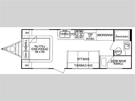 fun finder rv floor plans fun finder interior photos