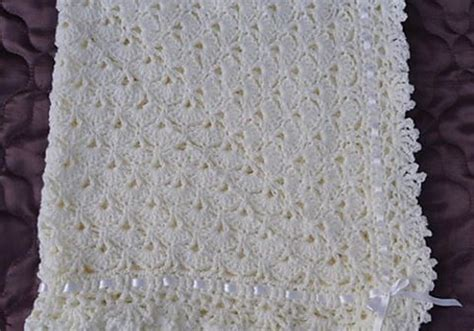 Unique Crochet Baby Blanket by Free Pattern Easy Fantail Baby Blanket With Unique