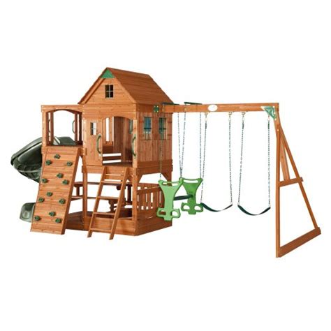 adventure swing set wood swing set adventure playsets patriot wooden swing set