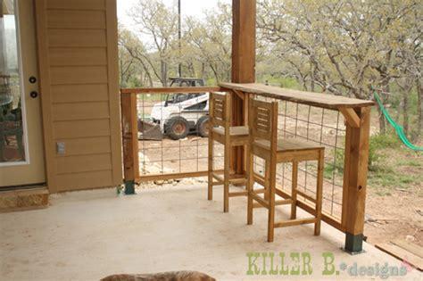 Porch Bar Ideas porch bar area killer b designs