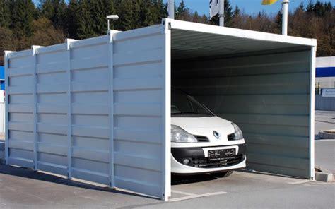 container als garage kmc garage ideal f 252 r den winter
