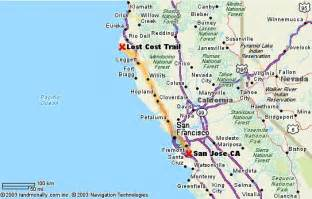 lost coast california map lost coast backpacking trip