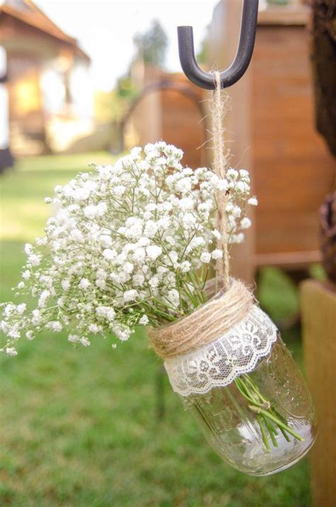 Jar Vases For Wedding by 25 Best Ideas About Jar Burlap On Bridal Shower Rustic Rustic Tea And