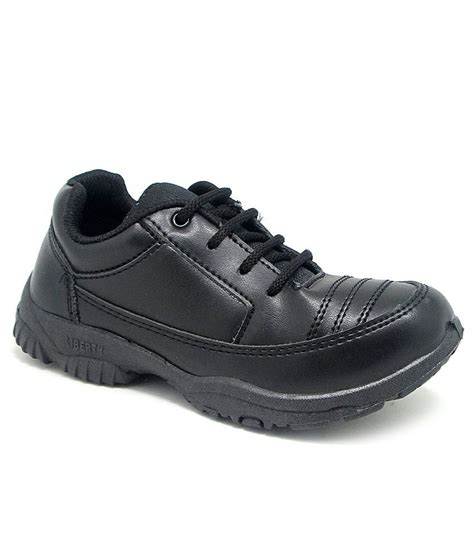 prefect by liberty black school shoes for price in