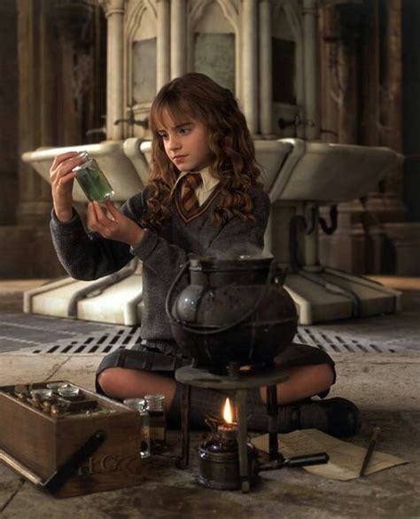 Hermione Granger Potions by Hermione Brewing Polyjuice Potion Costumes