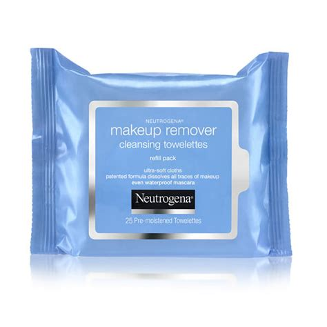 Makeup Remover Pac neutrogena makeup remover cleansing towelettes
