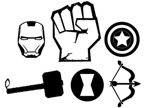 avengers symbol coloring page hulk fist symbol black widow my daughters favorite for