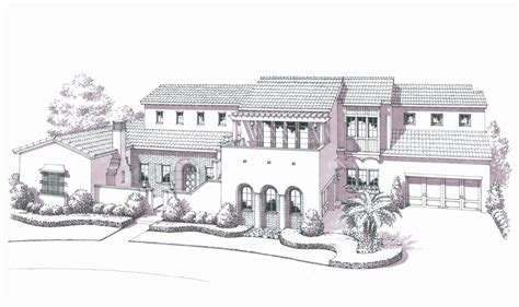 spanish colonial revival house plans spanish colonial house plans traintoball