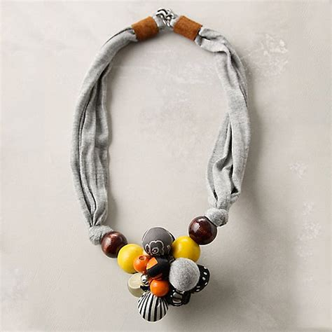 how to make jewelry scarves captured scarf necklace it lovely
