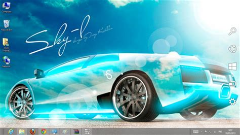microsoft themes cars super cars crystal effect theme for windows 7 and 8 season