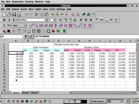 Spreadsheet Program Free by Spreadsheet Software Programs Images