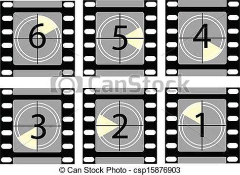 vector clipart van aftellen 2 film film aftellen 2 csp15876903 zoek naar clip art