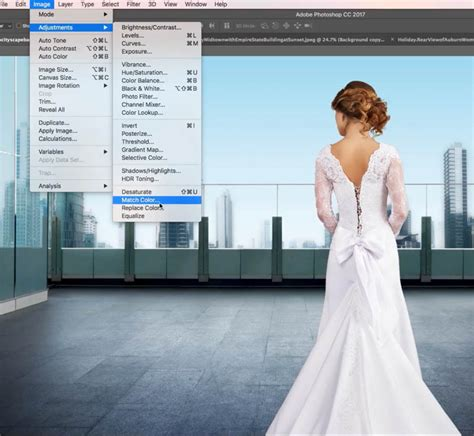 how to match colors in photoshop how to make the colors match between different photos in