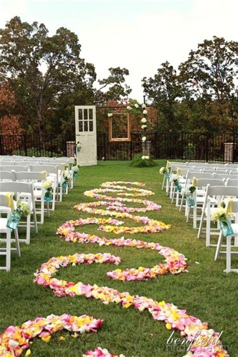 Wedding Aisle Garden by 50 Best Garden Wedding Aisle Decorations Pink Lover