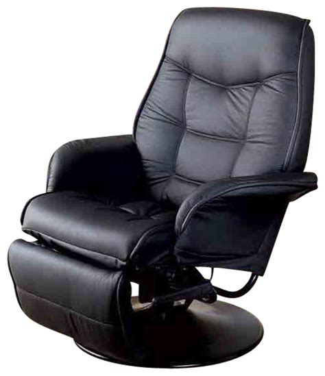 recliner contemporary contemporary berri swivel recliner with flared arms