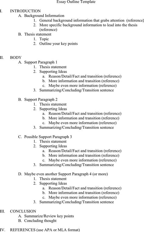 sle of essay outline sle conclusions monash how to reference in