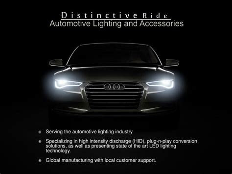 ppt templates for automobile presentation ppt automotive lighting and accessories powerpoint