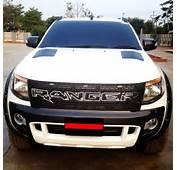 Grille Awesome Chrome Black For Ford Ranger T6 XLT PX 12 13 EBay