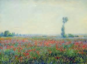 Modern Prairie Style poppy field 1881 claude monet wikiart org