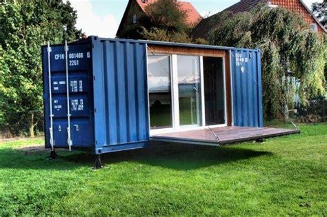 gartenhaus container container als gartenhaus umbauen my